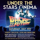 The Pavilion Presents…Under the Stars Cinema – Back to the Future!